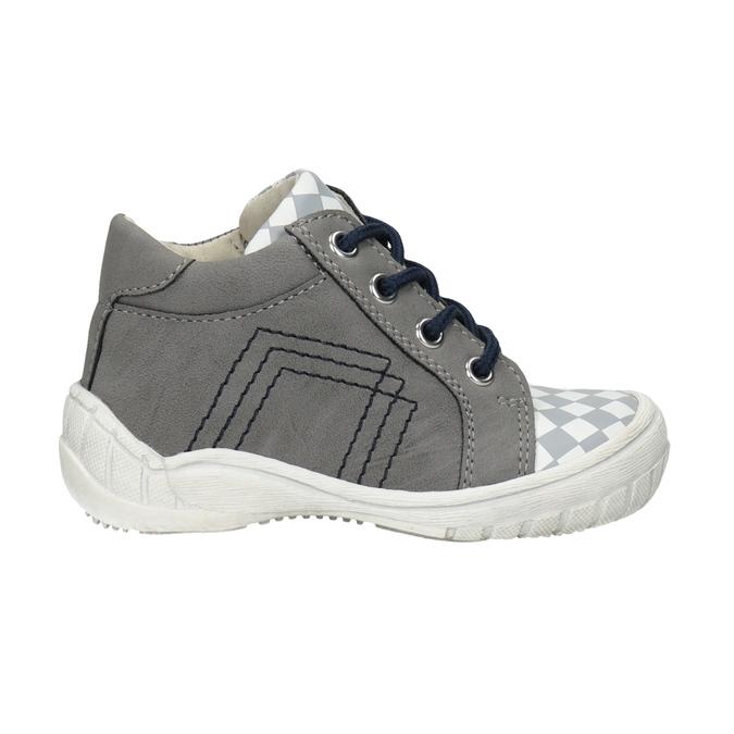 Detská členková obuv bubblegummers, šedá, 111-2626 - 26