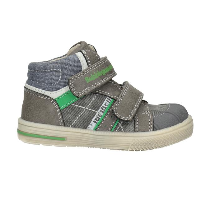 Členková detská obuv bubblegummers, šedá, 111-2614 - 26