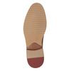 Kožené ležérne poltopánky hnedé bata, hnedá, 826-3853 - 17
