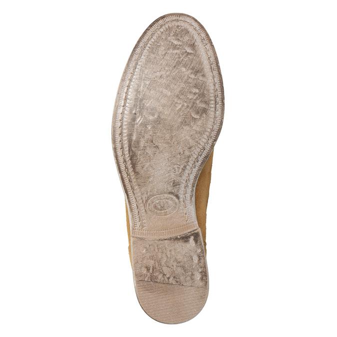 Perforované dámske čižmy bata, hnedá, 596-4688 - 19