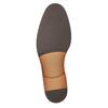 Poltopánky typu Oxford z brúsenej kože bata, čierna, 823-6618 - 17