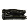 Kožená Crossbody kabelka so zipsom royal-republiq, čierna, 964-6082 - 15
