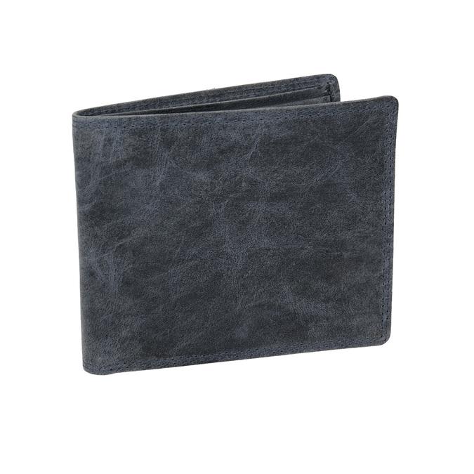 Pánska modrá kožená peňaženka bata, 944-9207 - 13