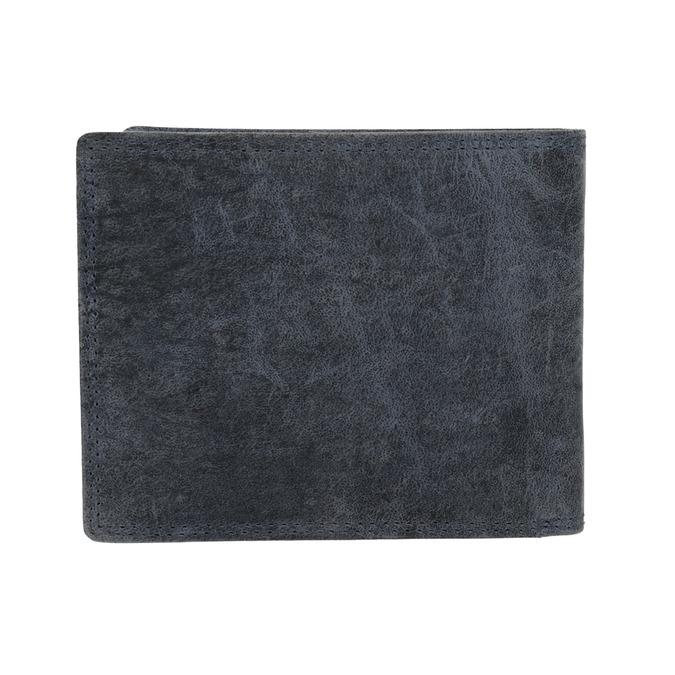 Pánska modrá kožená peňaženka bata, 944-9207 - 16