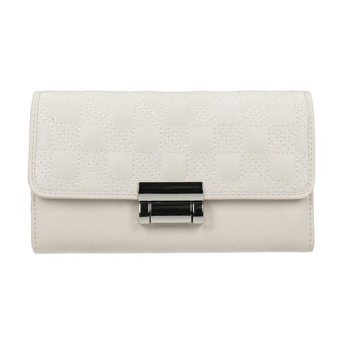Dámska peňaženka s prešitím bata, 941-1169 - 26