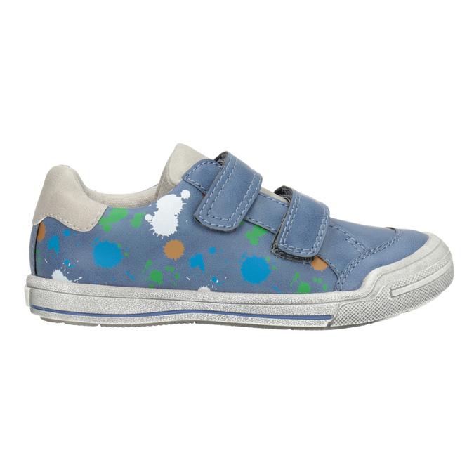 Modré tenisky s potlačou mini-b, 211-9218 - 26
