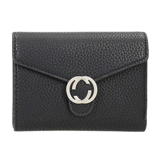 Dámska čierna peňaženka bata, čierna, 941-6213 - 26
