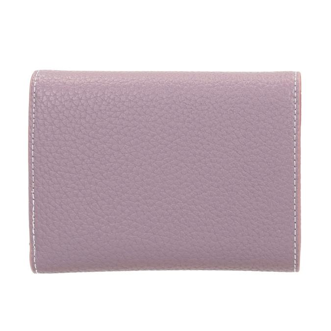 Ružová peňaženka s kovovým detailom bata, ružová, 941-9213 - 16