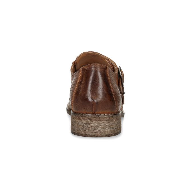 Dámske Monk Shoes bata, hnedá, 521-4609 - 15