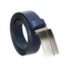 Modrý kožený opasok pánsky bata, modrá, 954-9208 - 13