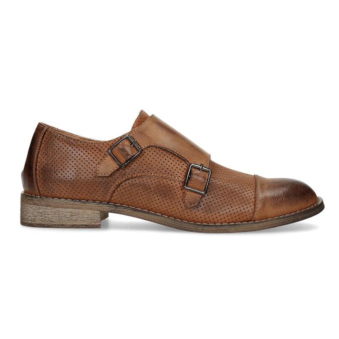 Dámske Monk Shoes bata, hnedá, 521-4609 - 19