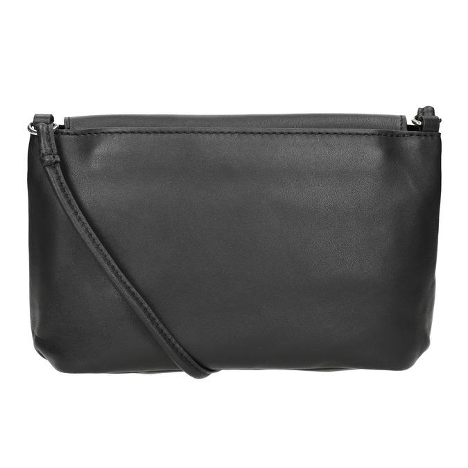 Kožená dámska Crossbody kabelka bata, čierna, 964-6291 - 16