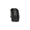 Dámske poltopánky s výraznou perforáciou bata, čierna, 521-6610 - 15