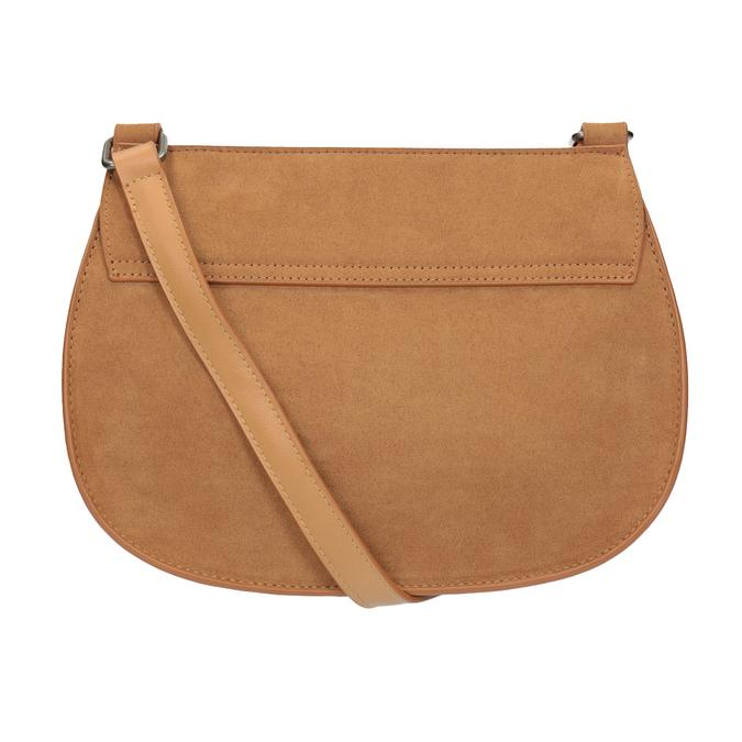 Crossbody kabelka s výšivkou bata, hnedá, 969-4686 - 16