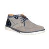 Členková pánska obuv bata, šedá, 843-2633 - 13