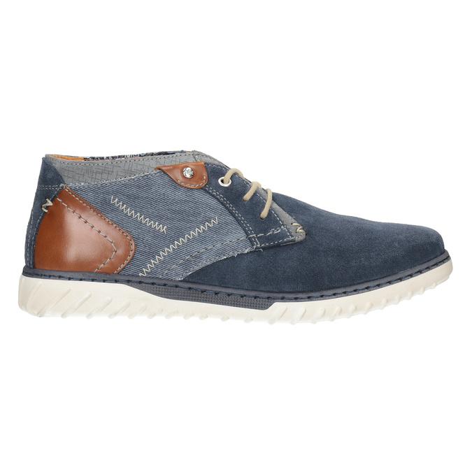 Pánska vycházková obuv bata, modrá, 843-9633 - 26
