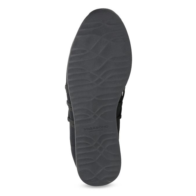 Slip-on tenisky s gumičkami vagabond, čierna, 619-6132 - 18