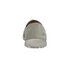 Pánske kožené Slip-on topánky weinbrenner, šedá, 836-2602 - 15