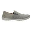 Pánske kožené Slip-on topánky weinbrenner, šedá, 836-2602 - 16