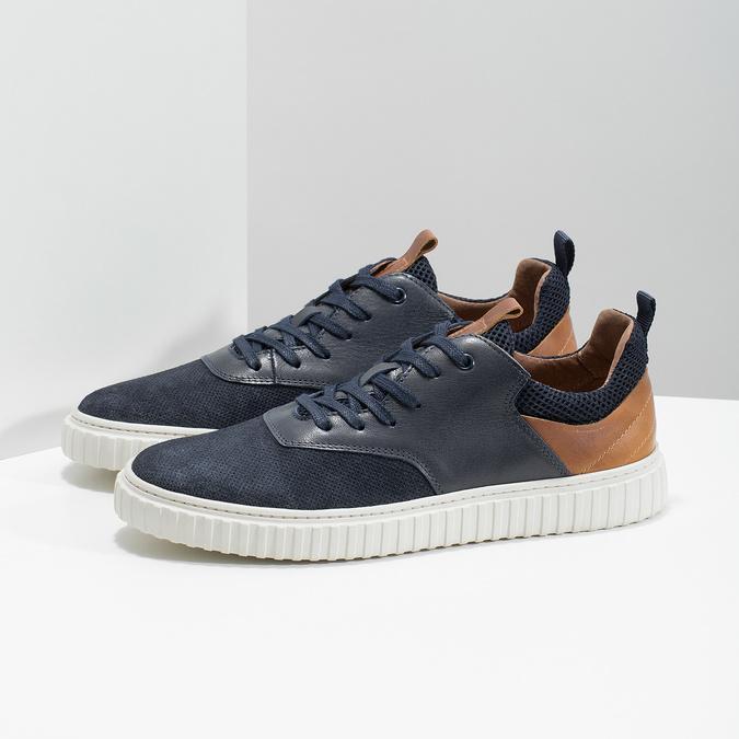 Ležérne kožené tenisky bata, 843-9637 - 16