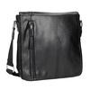 Pánska taška v štýle Crossbody bata, čierna, 961-6832 - 13