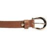 Dámsky hnedý kožený opasok bata, hnedá, 954-3202 - 26
