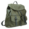 Dámsky zelený batoh bata, 961-7833 - 13