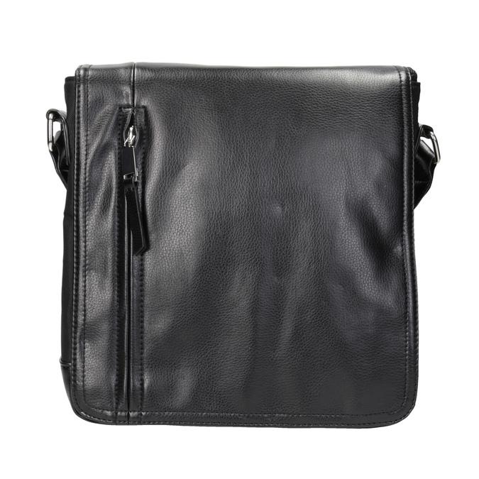 Pánska taška v štýle Crossbody bata, čierna, 961-6832 - 26