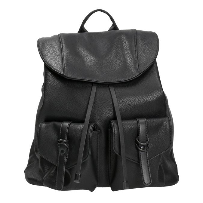 Čierny dámsky batoh bata, čierna, 961-6833 - 26