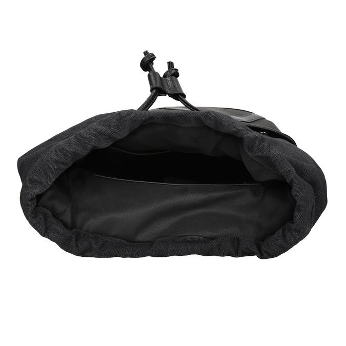 Unisex batoh s prackami atletico, čierna, 969-6678 - 15