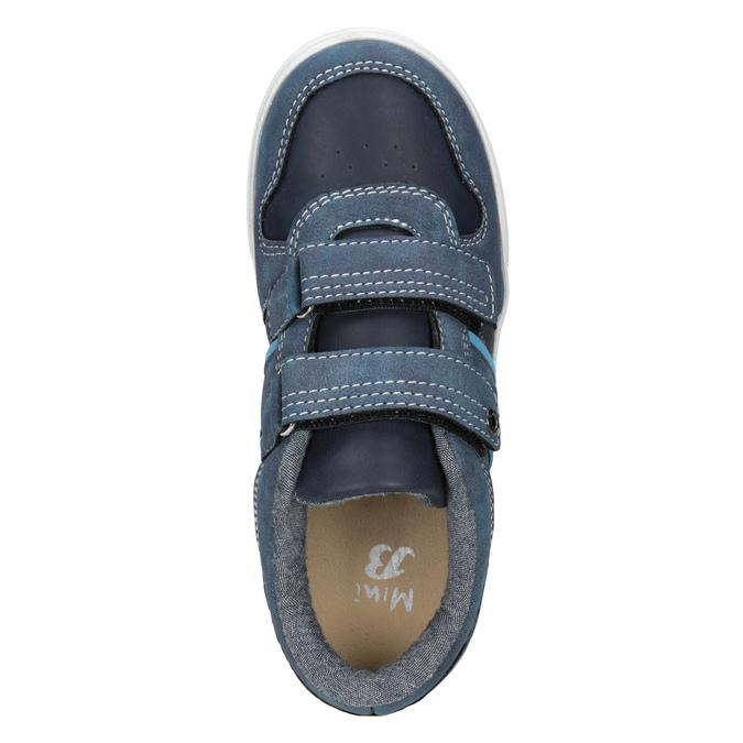Modré detské tenisky mini-b, 411-9101 - 15