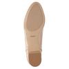 Béžové Loafers na nízkom podpätku bata, béžová, 511-8608 - 17