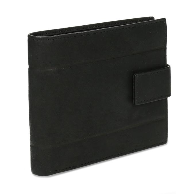 Pánska kožená peňaženka bata, čierna, 944-6210 - 13