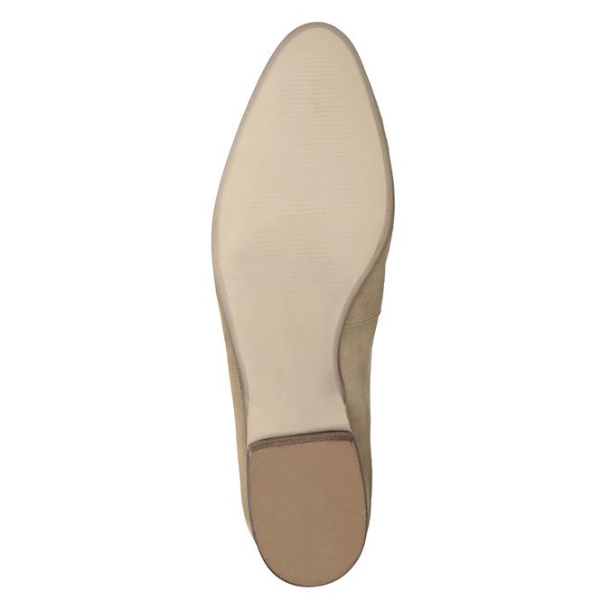 Ležérne mokasíny z brúsenej kože bata, hnedá, 516-4618 - 19