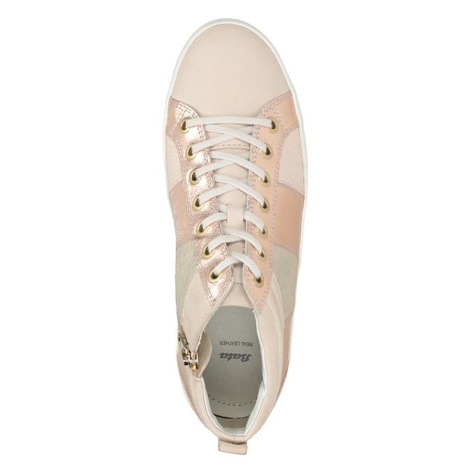 Dámske členkové tenisky bata, ružová, 546-5608 - 15