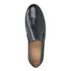 Kožené pánske Slip-on bata, modrá, 836-9601 - 15