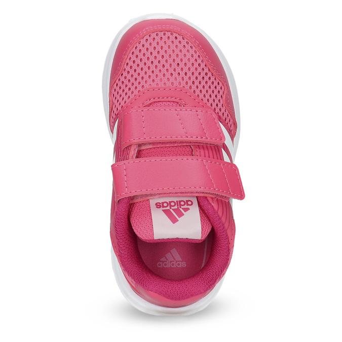 Ružové detské tenisky adidas, ružová, 109-5147 - 17