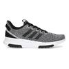 Čierno-biele tenisky s tkaným vzorom adidas, biela, 809-1101 - 19