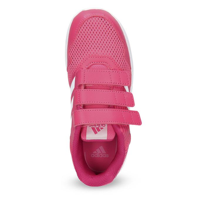 Ružové tenisky na suchý zips adidas, ružová, 309-5148 - 17