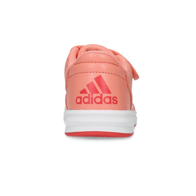 Detské tenisky v lososovej farbe adidas, ružová, 301-5151 - 15