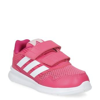 Ružové detské tenisky adidas, ružová, 109-5147 - 13