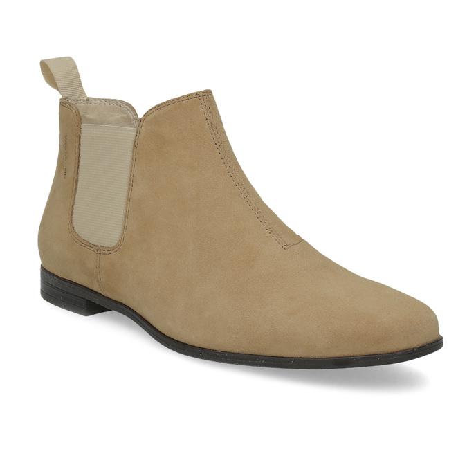 Kožené členkové Chelsea Boots vagabond, hnedá, 513-4098 - 13