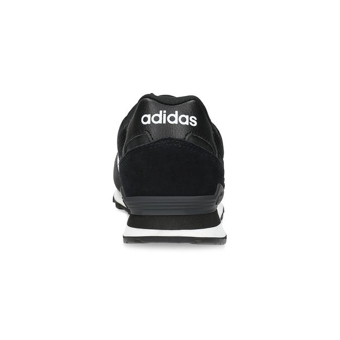 Čierne pánske tenisky z brúsenej kože adidas, čierna, 803-6293 - 15