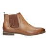 Dámska kožená Chelsea obuv bata, hnedá, 596-3684 - 26