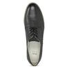 Kožené dámske poltopánky bata, čierna, 526-6650 - 17
