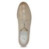 Kožené dámske poltopánky bata, béžová, 526-8650 - 17