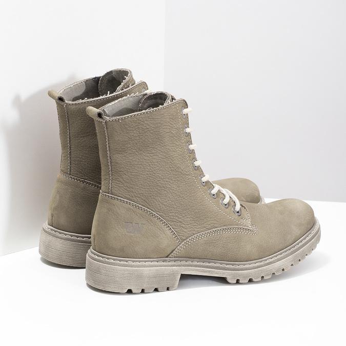 Dámska členková obuv weinbrenner, béžová, 596-8693 - 16