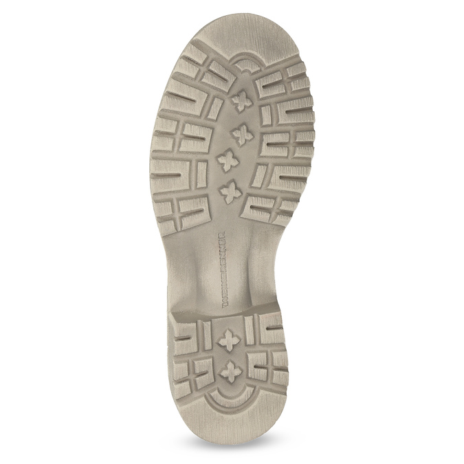 Dámska členková obuv weinbrenner, béžová, 596-8693 - 18