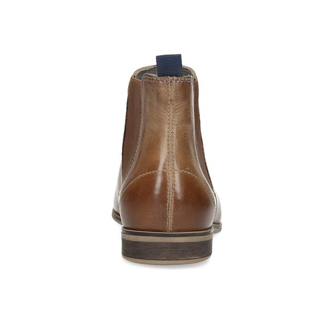 Dámska kožená Chelsea obuv bata, hnedá, 596-3684 - 15