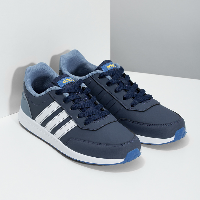 Modré detské tenisky adidas, modrá, 401-9181 - 26